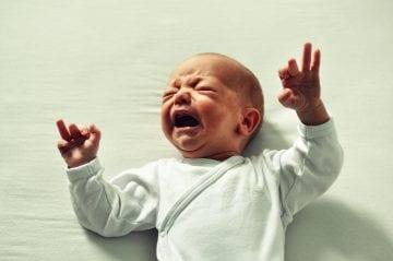 Bebé llorando - Mundo Bebé